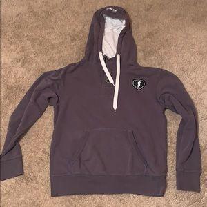 ICE HOCKEY men's button up hoodie sweatshirt